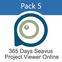 Picture of Pack 5 - 365 Days Subscription for Seavus Project Viewer Online