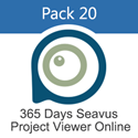 Picture of Pack 20 - 365 Days Subscription for Seavus Project Viewer Online