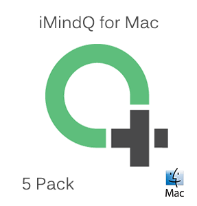 Picture of iMindQ Pack of 5 Perpetual Licenses for Mac with 1 Year SMA