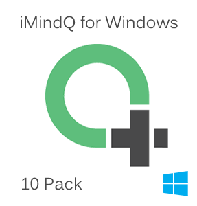 Picture of iMindQ Pack of 10 Perpetual Licenses for Windows with 1 Year SMA