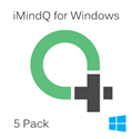 Picture of iMindQ Pack of 5 Perpetual Licenses for Windows with 1 Year SMA